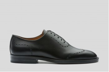 Black one cut oxfords