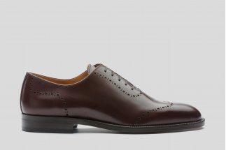 Burgundy one cut color oxfords