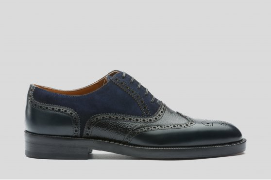 Blue Oxford Brogue